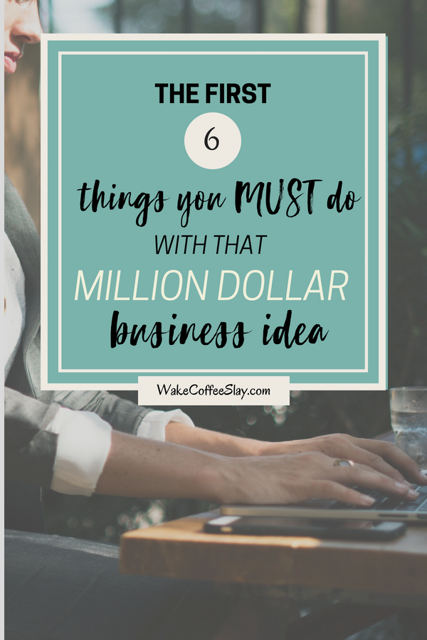 what to do with a business idea