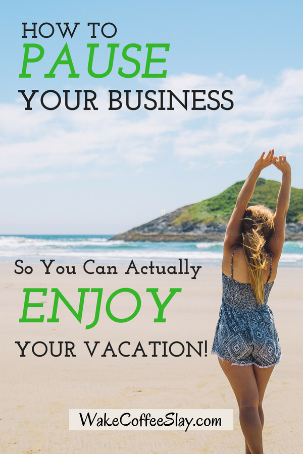 Taking a vacation as an entrepreneur can feel stressful when you're worried everything will go haywire without you. Here are some tips that can help!